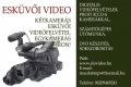 Élővideo keszthelyi esküvői videós