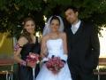 Borostyán Virág Üzlet nyúli esküvői virág