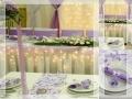 Menyegződekor budapesti esküvői dekoráció