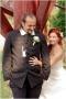 Machó Judit tápszentmiklósi esküvői öltöny